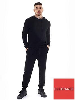 brave-soul-hoodie-andnbspjogger-set-black