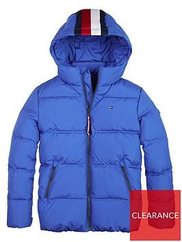tommy-hilfiger-boys-essential-padded-coat-blue