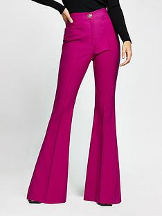 river-island-flare-trouser-berry
