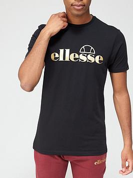 ellesse-ellesse-pradene-t-shirt-blackgold