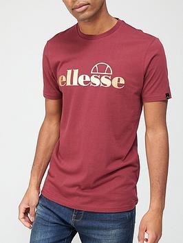ellesse-pradene-t-shirt-burgundynbsp