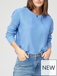 brave-soul-crew-neck-jumper-blue