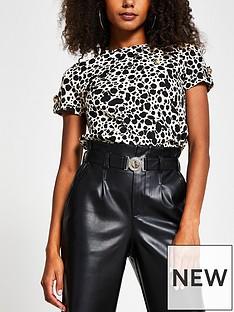 river-island-leopard-print-turnback-sleeve-t-shirt-white