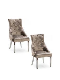 vida-living-ingrid-pair-of-dining-chairs-champagne