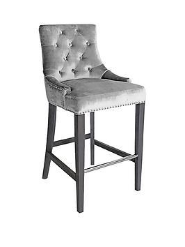 vida-living-ingrid-bar-chair-pewter