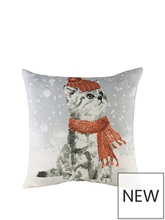 riva-home-snowy-cat-with-scarf-christmas-cushion