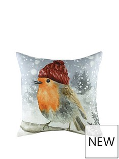 riva-home-snowy-robin-with-hat-cushion