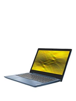 Lenovo Ideapad 1 11.6In Laptop - Amd Athlon, 4Gb Ram, 64Gb Storage, Microsoft Office 365 Personal Included, Optional Norton 360 Protection (1 Year) - Blue - Laptop Only