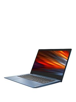 Lenovo Ideapad 1 14In Laptop - Amd Athlon, 4Gb Ram, 64Gb Storage, Microsoft Office 365 Personal Included, Optional Norton 360 Protection (1 Year) - Blue - Laptop + Norton 360 1 Year