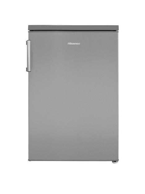 hisense-rl170d4bce-55cmwidth-under-counter-fridge-larder-stainless-steel-look