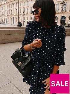 in-the-style-in-the-style-x-lorna-luxe-polka-dot-girls-girlnbspruffle-mini-dress-navy