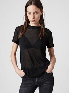 allsaints-francesco-t-shirt-black