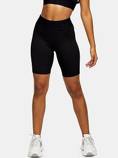 topshop-nadia-cycle-shorts-black