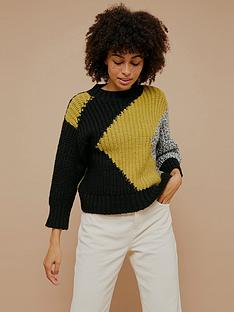 topshop-chunky-abstract-jumper-multinbsp