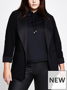 ri-plus-satin-collar-tux-blazer-black