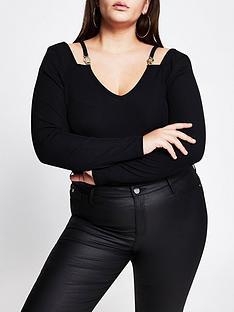 ri-plus-ri-plus-cut-out-hardwear-detail-v-neck-top-black