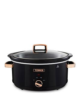 Tower 6.5L S/S Slow Cooker - Rose Gold