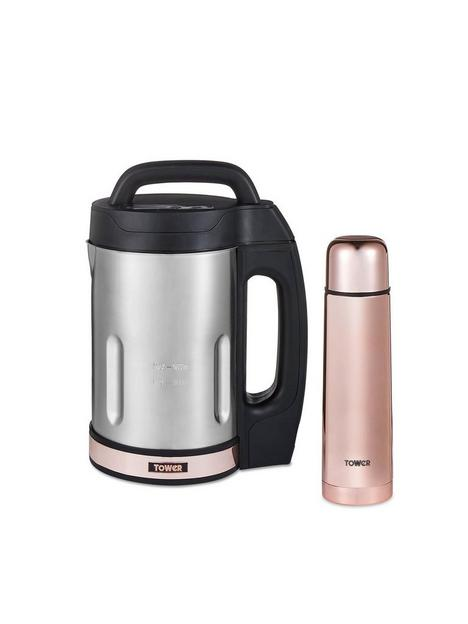tower-16l-soup-maker-including-500ml-flask--nbsprose-gold