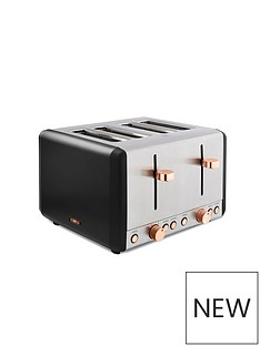 tower-tower-cavaletto-4-slice-toaster-black-rose-gold