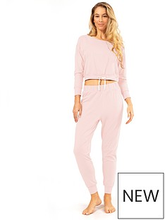 dorina-tie-waist-pyjama-top-lightnbsppink