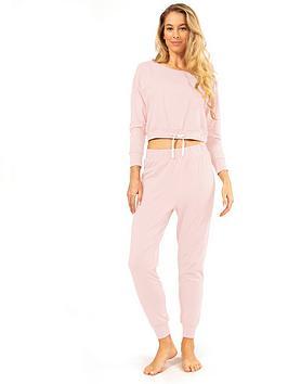 dorina-tie-waist-pyjama-top-lightnbsppink