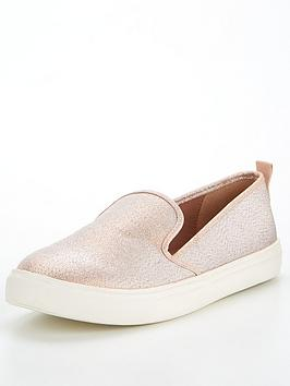 v-by-very-canvas-slip-on-pump-rose-gold