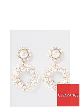 river-island-pearl-cluster-drop-earring-white