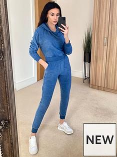 michelle-keegan-elasticated-waist-hoodie-lounge-set-blue