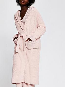 river-island-fluffy-hooded-dressing-gown-pink