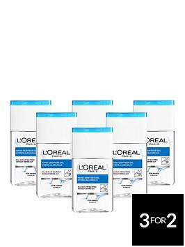 loreal-paris-anti-bacterial-hand-sanitiser-gel-70-alcohol-125ml-pack-of-6