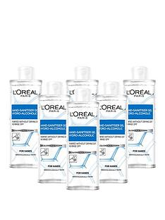 loreal-paris-anti-bacterial-hand-sanitiser-with-cap-70-alcohol-large-390ml-pack-of-6