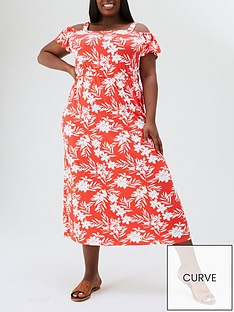 v-by-very-curve-jersey-cold-shoulder-midi-dress-red-print