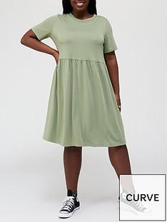 v-by-very-curve-jersey-smocknbspdress-khakinbsp