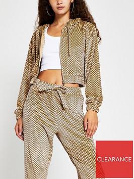 river-island-logo-velour-loungewear-hoody-brown