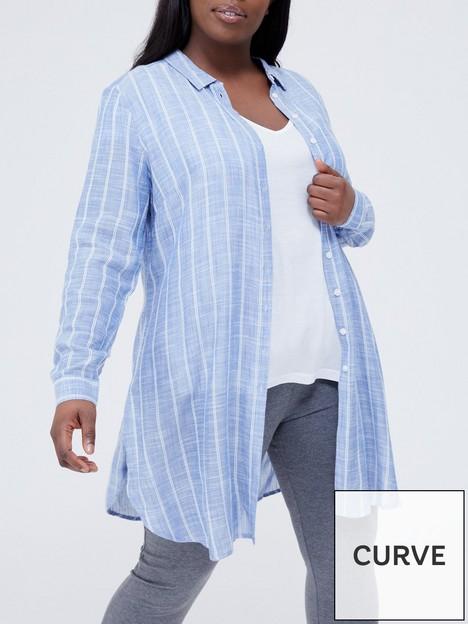 v-by-very-curve-stripe-multiway-longline-shirt-ndash-blue-stripe