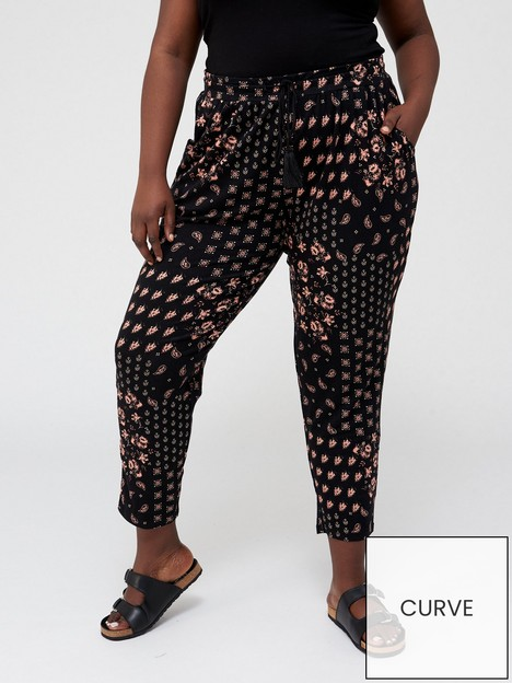 v-by-very-curve-jersey-tapered-leg-trouser-tile-printnbsp