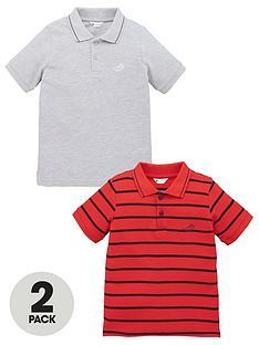 mini-v-by-very-boy-2-pack-essential-polos-red-stripegrey-marl