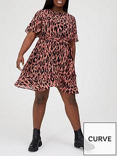 v-by-very-curve-wrap-skirt-woven-tea-dress-animal-printnbsp