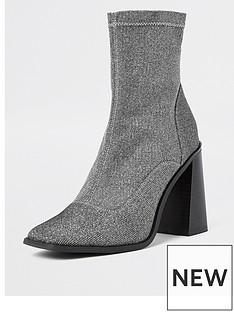 river-island-glitter-sock-boot-black