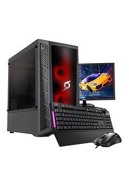 zoostorm-stormforce-onyx-amd-ryzen-3nbsp8gb-ramnbsp1tb-hddnbspgaming-pc-amp-24-inch-monitor