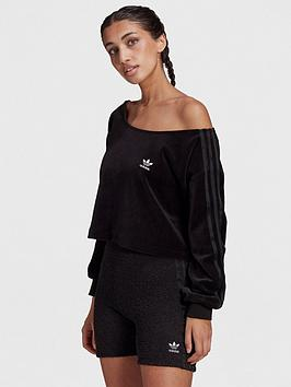 adidas-originals-relaxed-risque-velour-off-shoulder-sweater-black