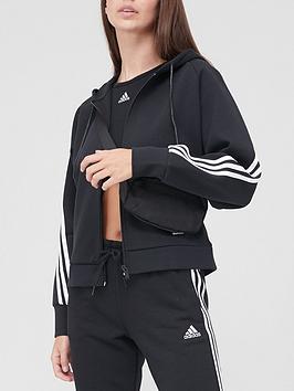 adidas-3-stripe-full-zip-hoodie-blacknbsp