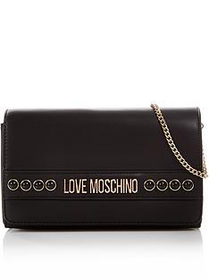 love-moschino-logo-stud-cross-body-bag-black