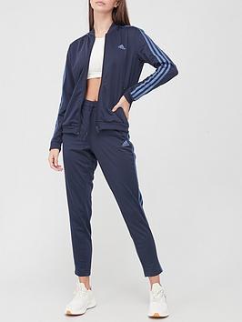 adidas-3-stripe-tracksuit-navynbsp