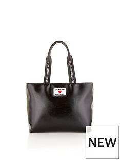 love-moschino-sporty-logo-patent-tote-bag-black