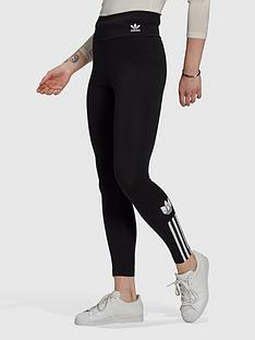 adidas-originals-3dnbsptrefoil-high-waist-leggingsnbsp--black