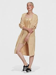 adidas-originals-relaxed-risque-boucle-knit-long-kimono-beige