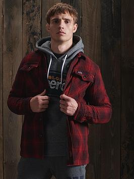 superdry-miller-flannel-shirt-rednbsp