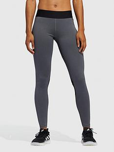 adidas-tech-fit-long-tights-dark-grey-heather
