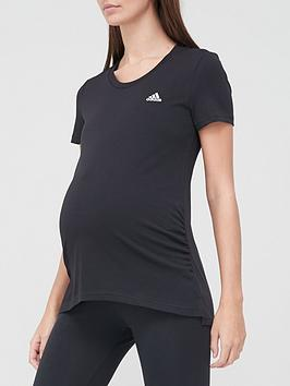 adidas-maternity-t-shirt-blacknbsp